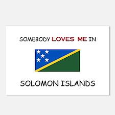 Somebody Loves Me In SOLOMON ISLANDS Postcards (Pa