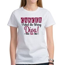 CancerWrongDiva Tee