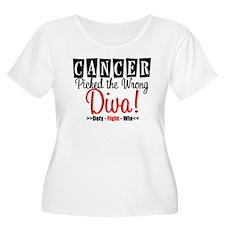 CancerWrongDiva T-Shirt