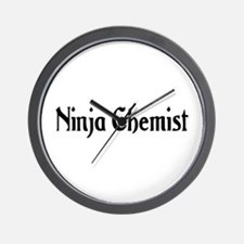 Ninja Chemist Wall Clock