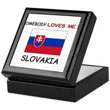 Somebody Loves Me In SLOVAKIA Keepsake Box