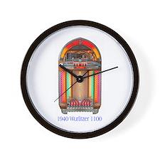 "1948 Wurlitzer 1100 ""Bullet"" Wall Clock"