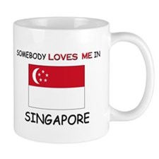 Somebody Loves Me In SINGAPORE Small Mug