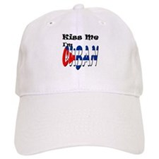 Kiss Me I'm Cuban Baseball Cap