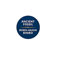 Ancient Fossil Born Again Bimbo Mini Button (10pk)