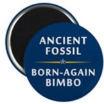 Ancient Fossil Born Again Bimbo 2.25 Magnet (10pk)