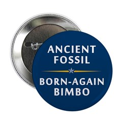 Ancient Fossil Born Again Bimbo 2.25 Button (10pk)