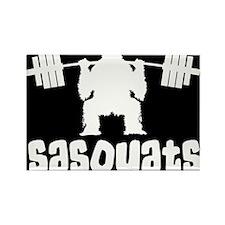 Sasquats Rectangle Magnet