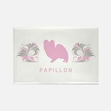 """Elegant"" Papillon Rectangle Magnet"