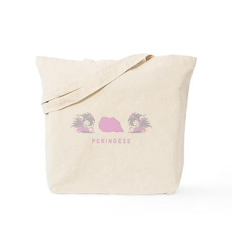 """Elegant"" Pekingese Tote Bag"