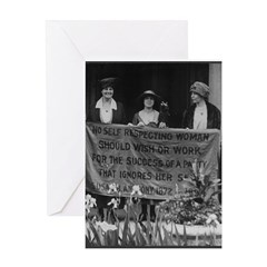 Alice Paul Greeting Card