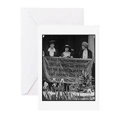 Alice Paul Greeting Cards (Pk of 10)