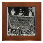 Alice Paul Suffragist Framed Tile