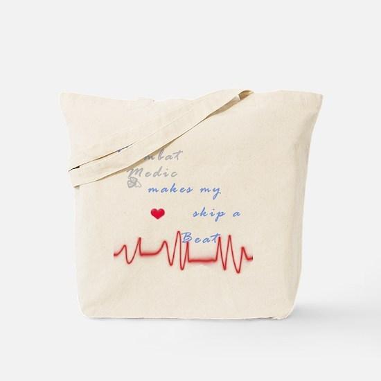 Heart skip a beat Tote Bag