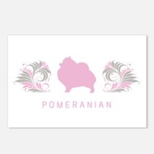 """Elegant"" Pomeranian Postcards (Package of 8)"