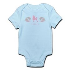"""Elegant"" Poodle Infant Bodysuit"