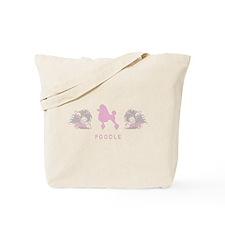 """Elegant"" Poodle Tote Bag"