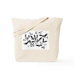 the bats Tote Bag