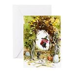 Magic Trixie Autumn Greeting Cards (Pk of 10)