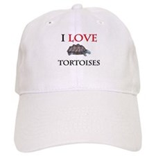 I Love Tortoises Baseball Cap