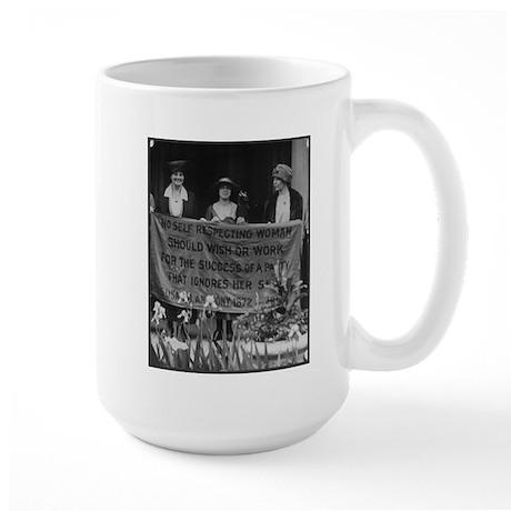 Alice Paul Large Mug