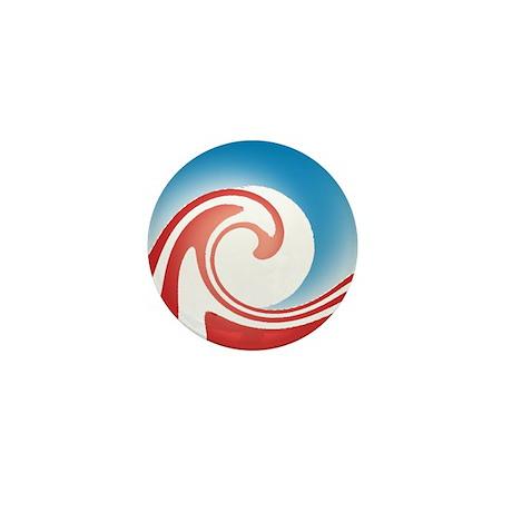 Obama Wave Mini Button (100 pack)