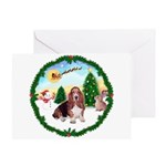 Take Off1/Basset Hound Greeting Card
