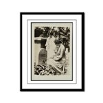 Alice Paul @ S. B. Anthony Grave Framed PanelPrint