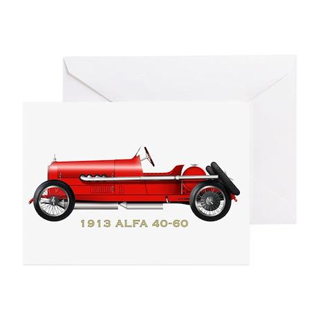 Alfa Romeo Greeting Cards (Pk of 10)