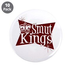 """Smut Kings Red Logo 3.5"""" Button (10 pack)"""