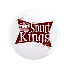 "Smut Kings Red Logo 3.5"" Button"