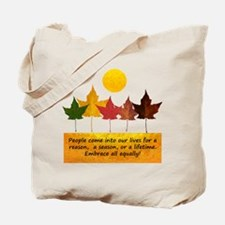 Seasons of Friendship Tote Bag