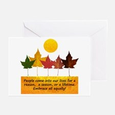 Seasons of Friendship Greeting Cards (Pk of 20)