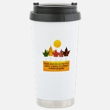 Seasons of Friendship Stainless Steel Travel Mug