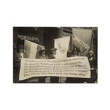 Suffragists Protest Republicans! Rectangle Magnet