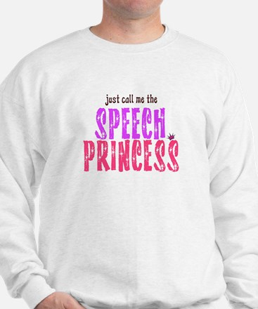 SPEECH PRINCESS Sweatshirt