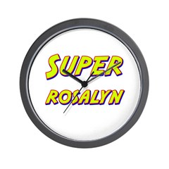 Super rosalyn Wall Clock
