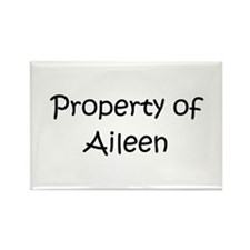 Funny Aileen Rectangle Magnet