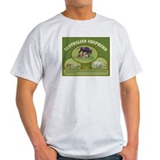Australian Shepherd Herding T-Shirt
