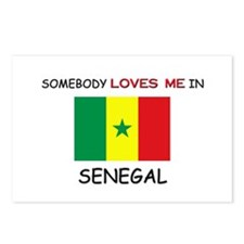 Somebody Loves Me In SENEGAL Postcards (Package of