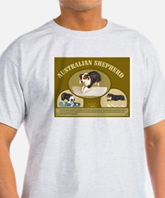Australian Shepherd Obedience T-Shirt