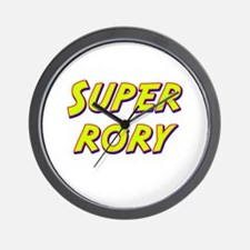 Super rory Wall Clock