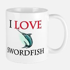 I Love Swordfish Mug