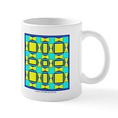 Dutch Blue And Yellow Design Mug