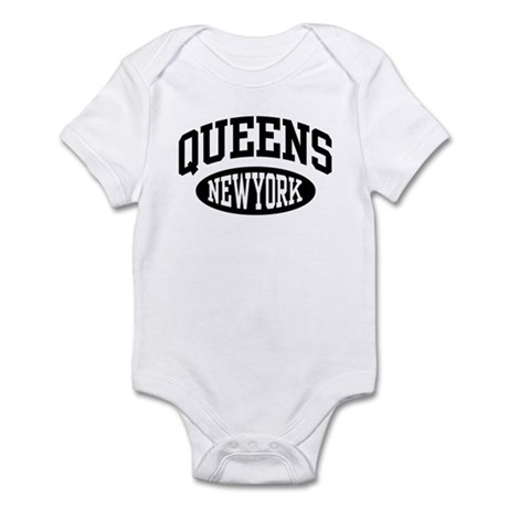 Queens New York Infant Creeper