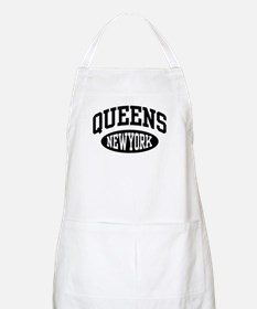 Queens New York BBQ Apron