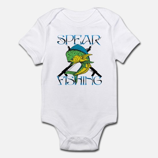 DOLPHIN SPEAR FISHING Infant Bodysuit