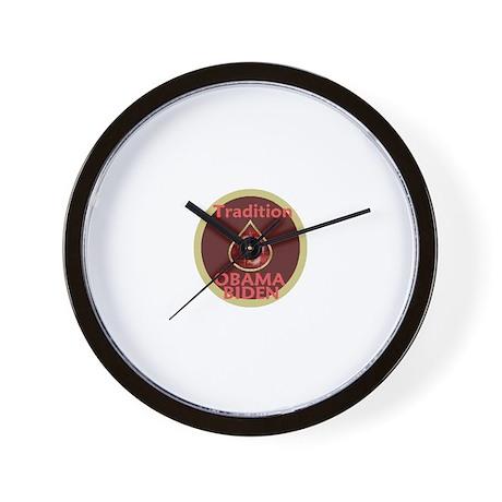 Obama Biden MENORAH Wall Clock