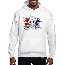2 DIVE FLAGS Hoodie Sweatshirt