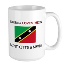 Somebody Loves Me In SAINT KITTS & NEVIS Mug